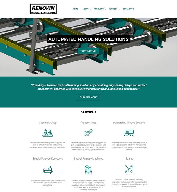Engineering Web Design | Baltic Design